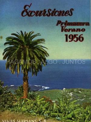 excursiones primavera verano 1956