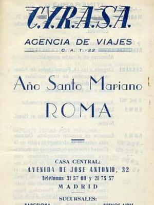 año santo mariano, roma