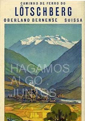 caminho de ferro do lotschberg, oberland bernese